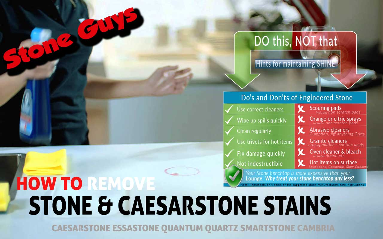 Caesarstone benchtop stain - How to remove stain stone benchtops ...