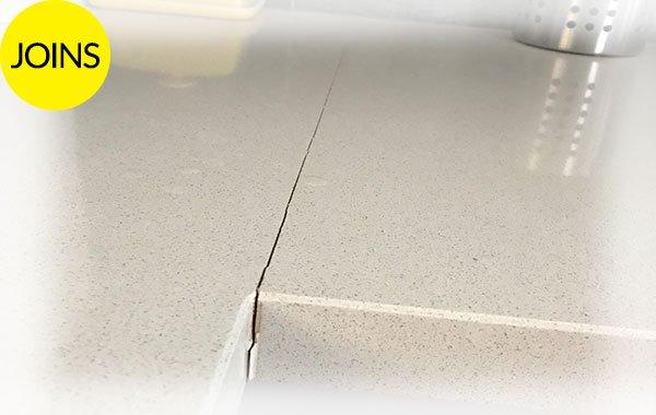 Stone Benchtop Join Repair Brisbane Caesarstone Join Repair Brisbane