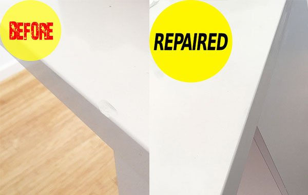 caesarstone chip repair